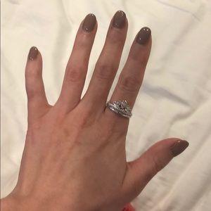 Emmy London Princess Crown Ring
